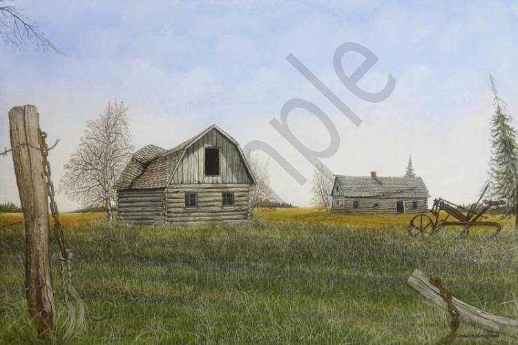 Allex Halliburton Pastel Gallery Prairie Scenes
